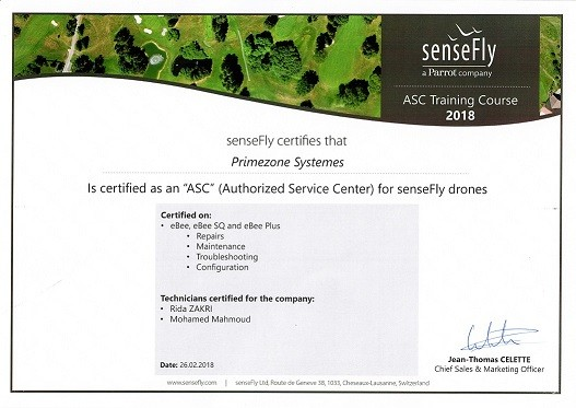 Sensefly Authorized service center